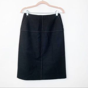 J. Crew Wool Pencil Skirt 4 #0305